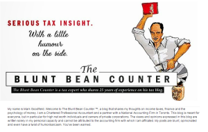 Blunt Bean Counter Blog Picture